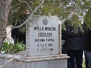 Molla Mansur Güzelsoy Mezarı Başında Anıldı