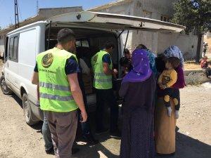 Öze Dönüş'ten Şırnak ve Cizre'de 320 Aileye Yardım