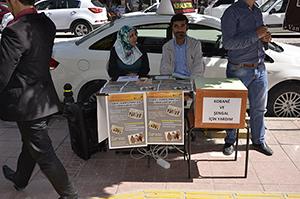Van ÖZEDÖNÜŞ Derneğinin Şengal'li mülteciler için başlattığı yardım kampanyası devam ediyor