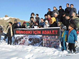 25 STK Roboski için Erek dağına  tırmandı