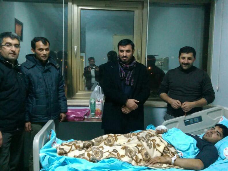 Selim Kanat kardeşimizin oğlu Ensar Kanat geçirdiği trafik kazası sonucu yaralandı.
