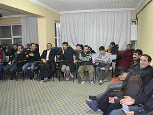 Molla Mansur Güzelsoy'u anma programı.
