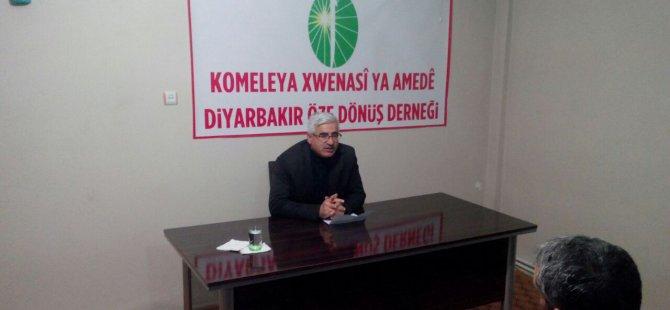 Diyarbakır Öze Dönüş Der'de TAKVA semineri verildi.