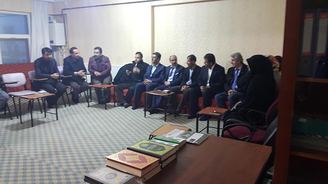 Halkların Demokratik Partisi Van Öze Dönüş'ü ziyaret etti.