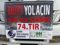 """İzmir Öze Dönüş'ten """"Halep'e yol açın!"""" kampanyasına destek"""