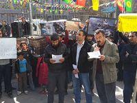 Van Öze Dönüş Der Van Sanat Sokağında Halepçe Konulu Basın Açıklaması Yaptı